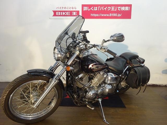 ヤマハ ドラッグスター400 インジェクション 風防 サドルバッグの画像(広島県