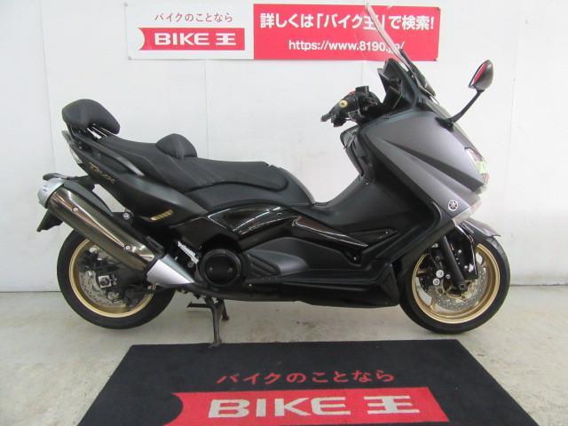 ヤマハ TMAX530 BLACK MAX 専用バックレスト