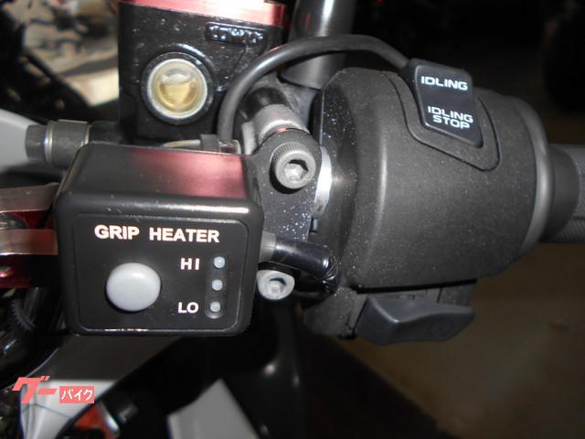 グリップヒーター装備