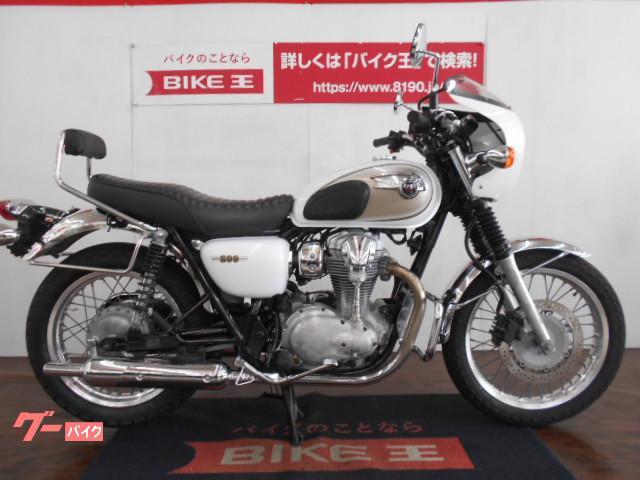 カワサキ W800 ビキニカウル バックレスト装備物件画像