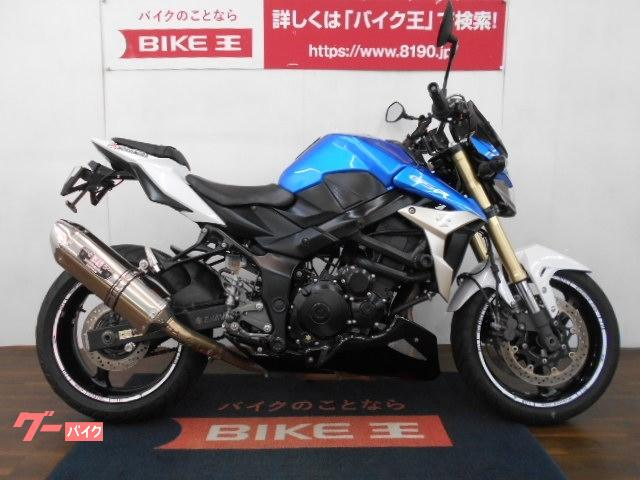 スズキ GSR750 ヨシムラマフラー フェンダーレス物件画像