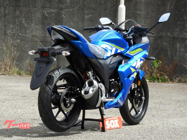 スズキ GIXXER SF 150 Moto GP 国内未発売モデルの画像(新潟県