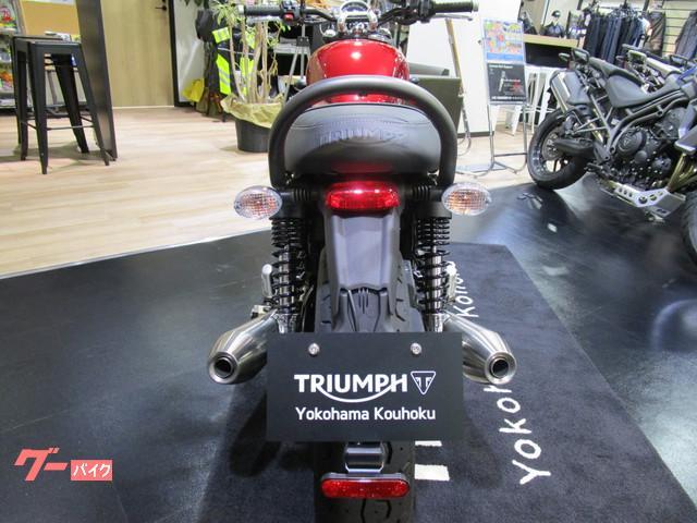 TRIUMPH ストリートツイン '18 1オーナー メーカーオプション装備の画像(神奈川県