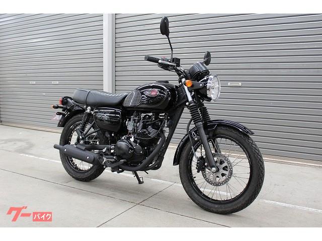 カワサキ W175 ブラックスタイル 2020年 国内未発売モデルの画像(熊本県