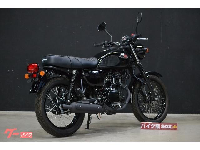 カワサキ W175 ブラックスタイル 2020年 国内未発売モデルの画像(大阪府