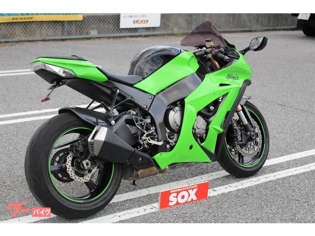 カワサキ Ninja ZX-10R MRAスモークスクリーン装着の画像(栃木県
