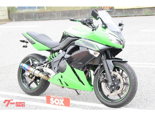 カワサキ Ninja 400R BEAMSサイレンサー装着の画像(栃木県