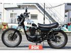 カワサキ 250TR スチール製リヤキャリア装備の画像(栃木県