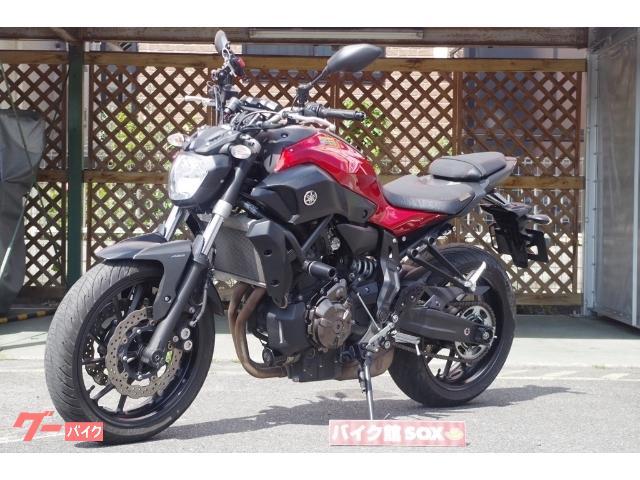 ヤマハ MT-07ABS エンジンスライダー USB電源 グリップヒーター装備の画像(滋賀県