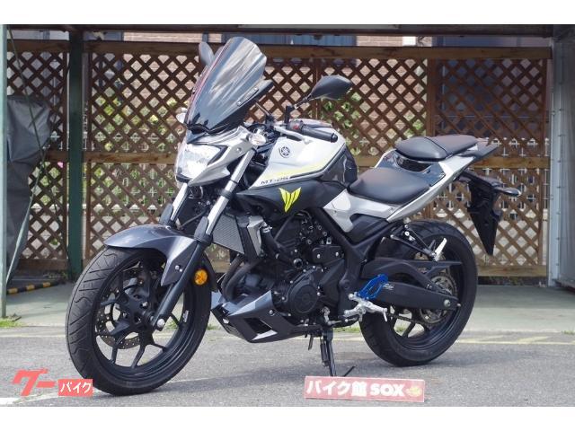 ヤマハ MT-25 社外スクリーン エンジンスライダー装備の画像(滋賀県