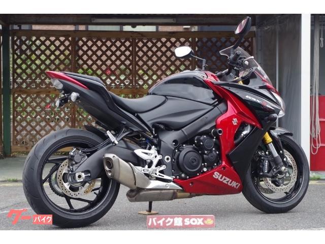 スズキ GSX-S1000F 2016年モデル エンジンスライダー リアフェンダーレス グリップヒーター装備の画像(滋賀県