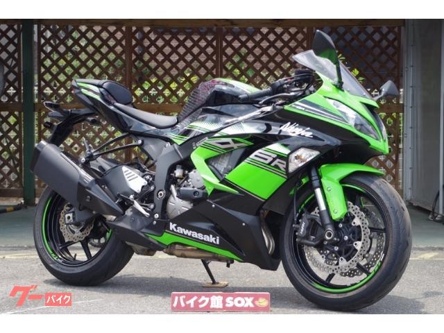カワサキ Ninja ZX-6R ABS 2016年モデル エンジンスライダー装備の画像(滋賀県