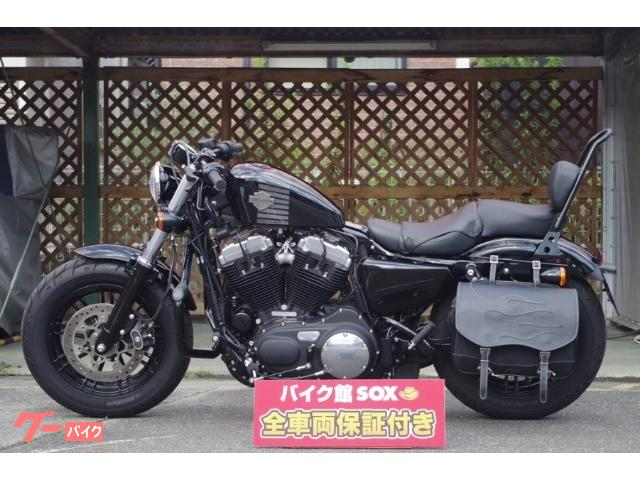HARLEY-DAVIDSON XL1200X フォーティエイト 2018コンビメーター タンデムシート シーシーバー サイドバッグ エンジンガード他装備の画像(滋賀県