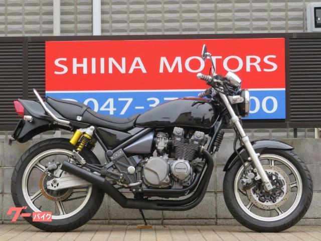 ZEPHYR400 13155 ブラック集合管 ブラックカラー タンデムバー マルチリフレクター