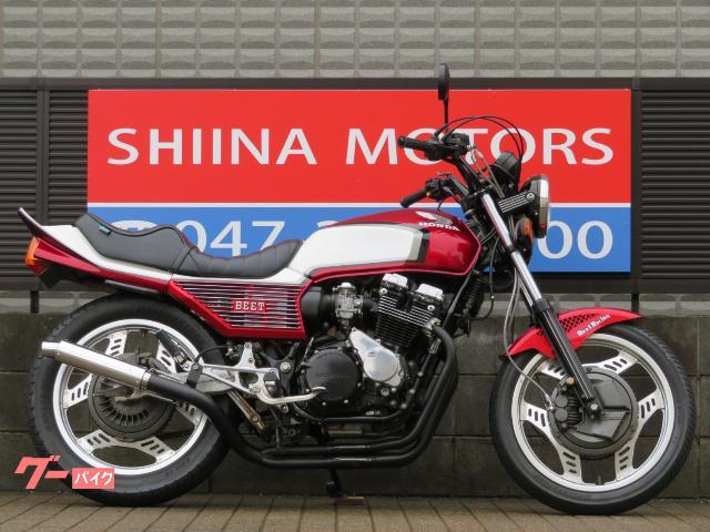 CBX550F 13429 フルBEET外装 赤/白2カラー 国内新規登録 400cc公認登録 オオカワタックロールシート