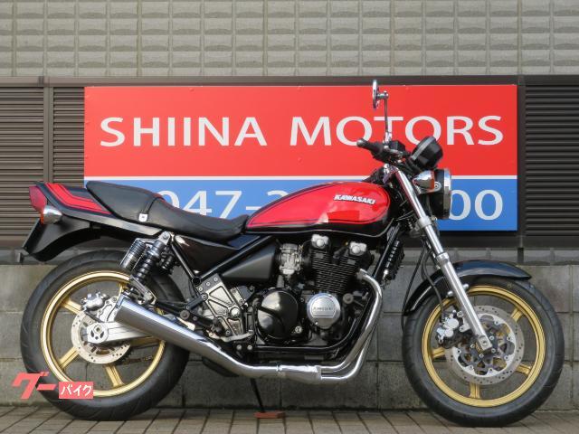 ZEPHYR400 13441 火の玉カラー 1型 前後ゴールドホイール 新品タイヤ エンジン/メインフレーム等NEWペイント済