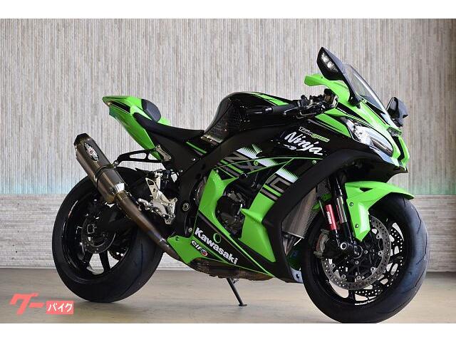 Ninja ZX−10R マフラーホイールカスタム
