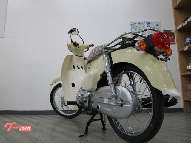 ホンダ スーパーカブ50 セル&キックスターター LEDヘッドライト 現行モデル新車の画像(東京都