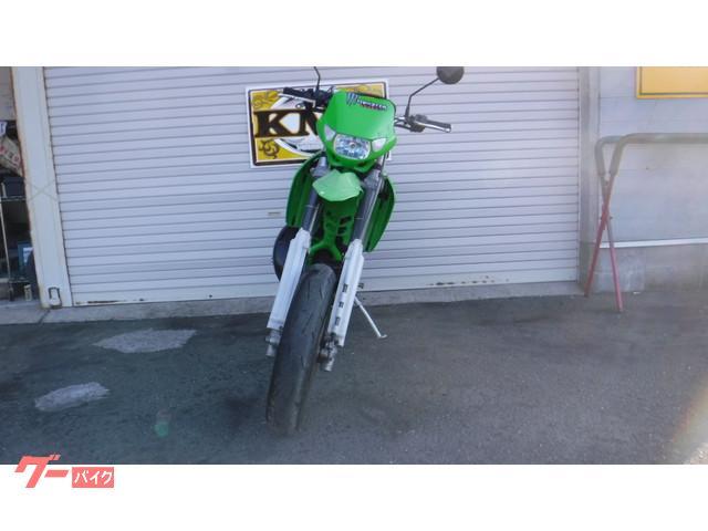 カワサキ KDX250SR モタード仕様 エクセルリム アルミサイレンサーの画像(神奈川県