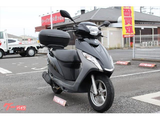スズキ アドレス125 2017年モデル リアボックス装備の画像(茨城県