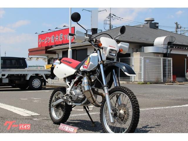 ホンダ CRM80 1997モデル プロスキルチャンバー FMFサイレンサーの画像(茨城県