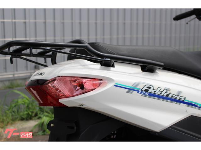 スズキ アドレス125 2019モデル  ワンオーナー車の画像(千葉県