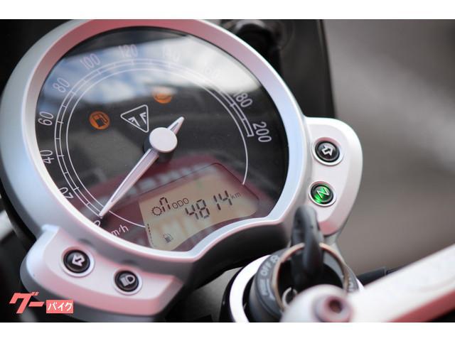 TRIUMPH ストリートツイン 純正スクリーン グラブバーの画像(埼玉県