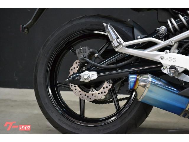 カワサキ Ninja 400R 2011年モデル BEETサイレンサー スライダーの画像(大阪府