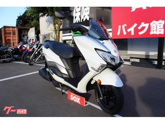 スズキ バーグマン125 インジェクション 国内未発売モデルの画像(埼玉県