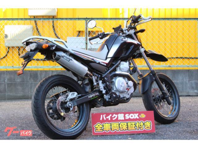 ヤマハ XT250X 2006年モデル デルタ製サイレンサー リアキャリア付きの画像(埼玉県