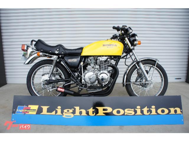 CB400F(408cc)398公認登録