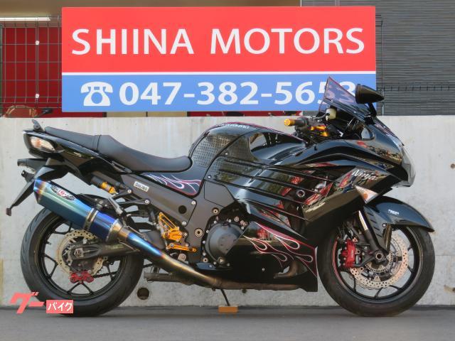 Ninja ZX−14R 51178 ベビーフェイスバックステップ グリップヒーター 2本出しBEETマフラー ETC