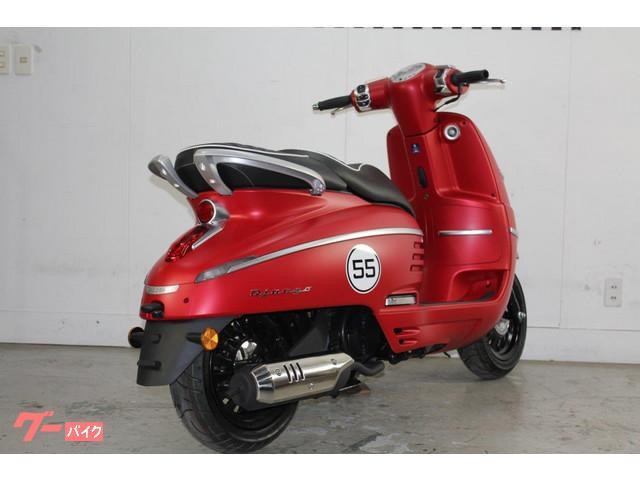 ジャンゴ150 スポーツ ABS サテンチェリーレッド ST190509