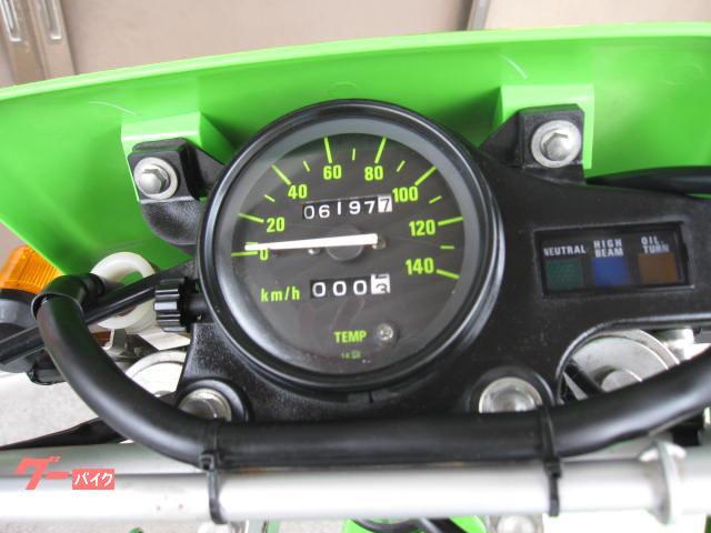 カワサキ KDX125SR 前後タイヤ他新品パーツ使用の画像(静岡県