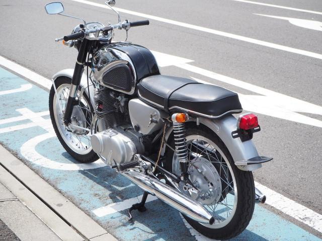 ホンダ CB72の画像(静岡県