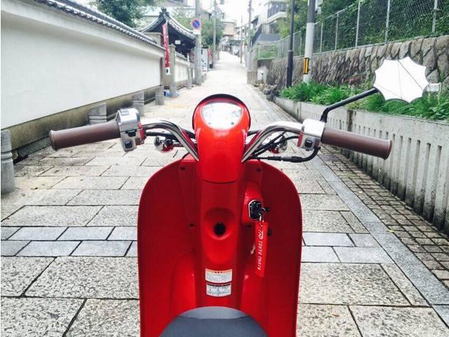 ホンダ クレアスクーピー スペシャル黒赤改の画像(大阪府