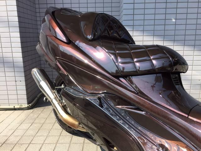 スズキ スカイウェイブ250 タイプS ブラウンカスタムの画像(大阪府