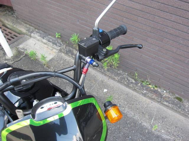 カワサキ KSR110 キャストホイールの画像(京都府