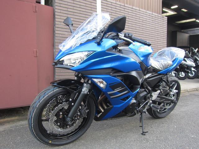 カワサキ Ninja 650 2018年モデルの画像(京都府