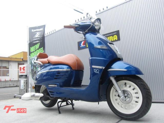 PEUGEOT ジャンゴ125 120thリミテッドモデルの画像(京都府