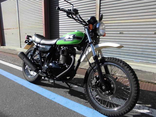 カワサキ 250TRの画像(京都府