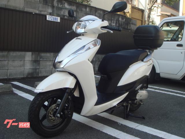 ホンダ リード125 GIVIリヤBOX付の画像(京都府