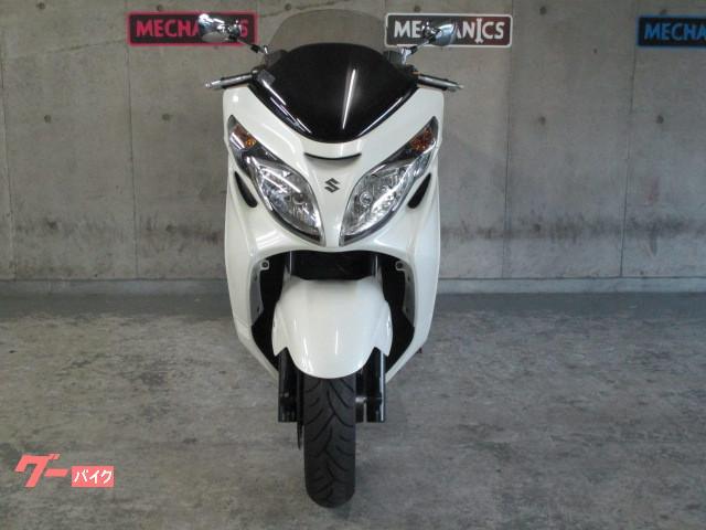 スズキ スカイウェイブ250 タイプS マフラー ステップボード改の画像(大阪府