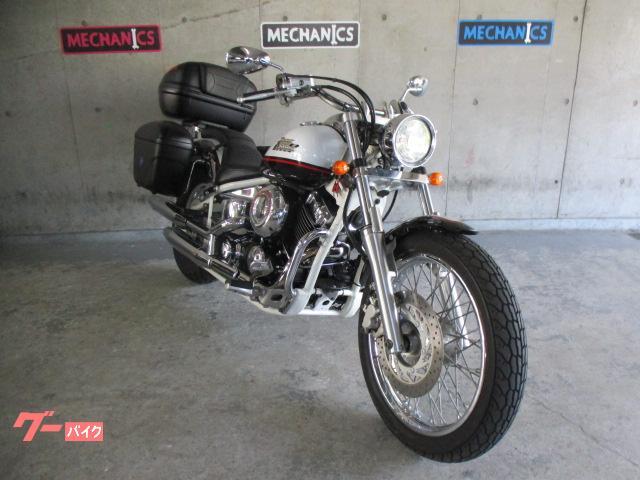 ヤマハ ドラッグスター400 ボックス3点 エンジンガード装備の画像(大阪府