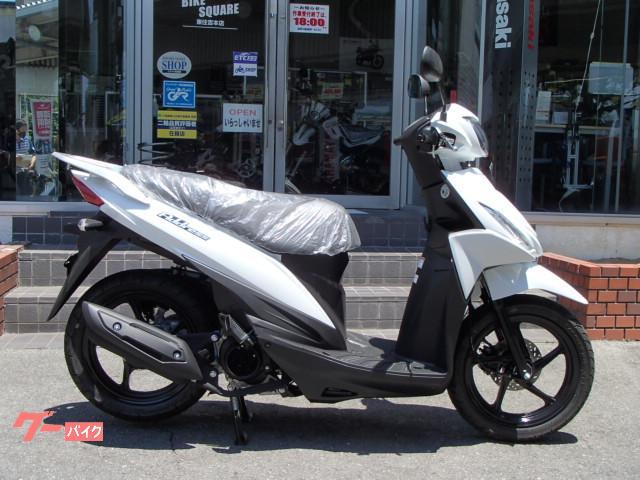 アドレス110 コンバインドブレーキ搭載モデル