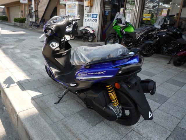 ヤマハ シグナスX SR モビスタ限定の画像(兵庫県