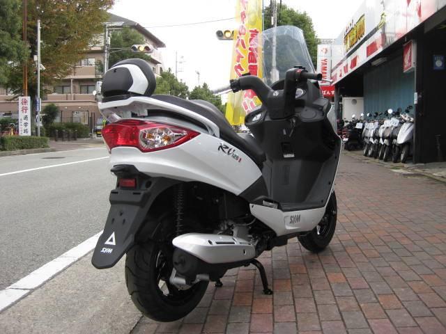 SYM RV125i 限定車 新車の画像(兵庫県
