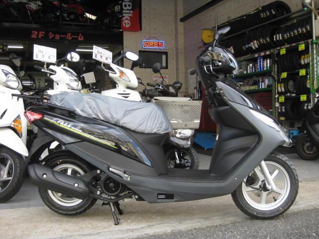 スズキ アドレス125 日本仕様 新車の画像(兵庫県