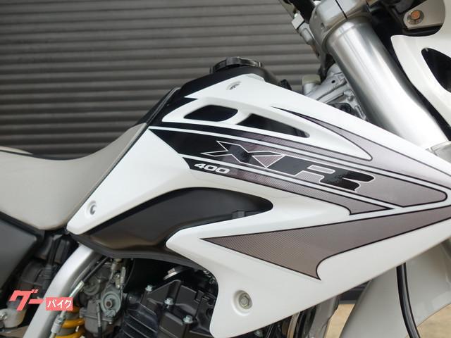 ホンダ XR400 モタード リアキャリア フェンダーレス ZETAハンドガードの画像(大阪府