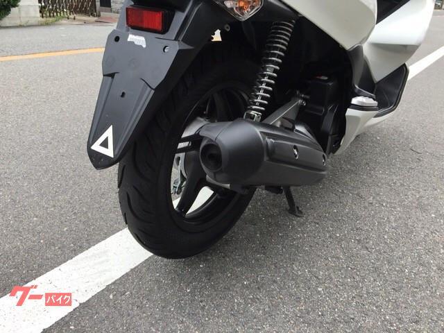 ホンダ PCX 警報装置付き 前後タイヤ パッド交換済みの画像(大阪府